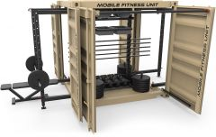 Mobile Fitness Unit Equipped